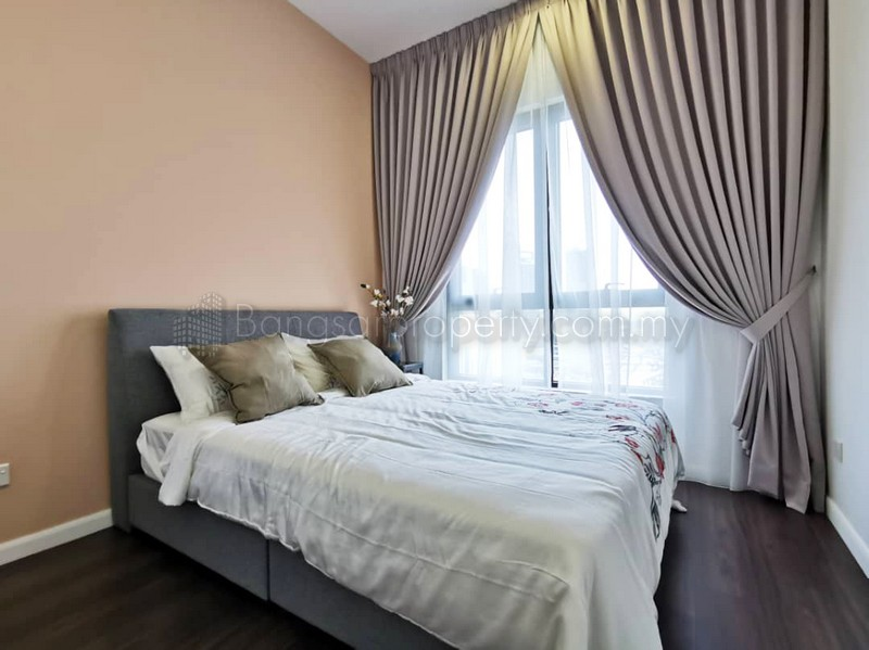 Novum, Bangsar South, Kampung Kerinchi  823sqft Two (2) Bedroom ID#14 New