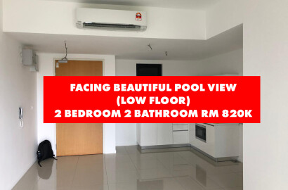 Novum, Bangsar South Kampung Kerinchi 823sqft Pool View Low Floor For Sale ID#08